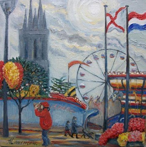 La Fete Foraine Peinture Lauchlan