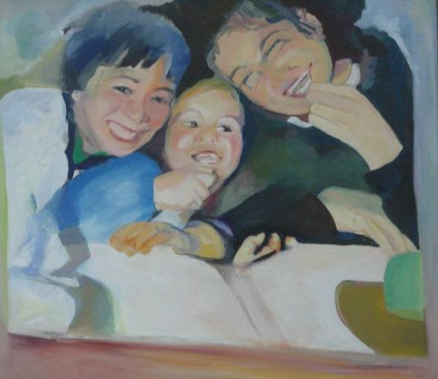 Christiane Jousset - enfants souriants