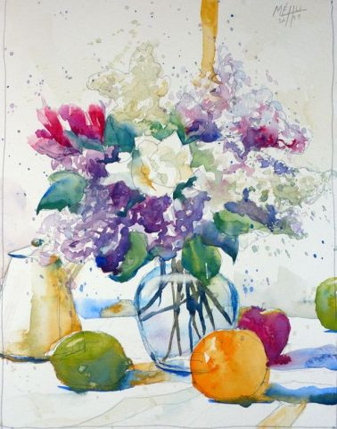 Andre Mehu - Lilas et freesia