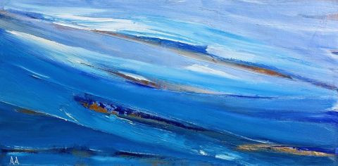 anny aguiar - blue wave