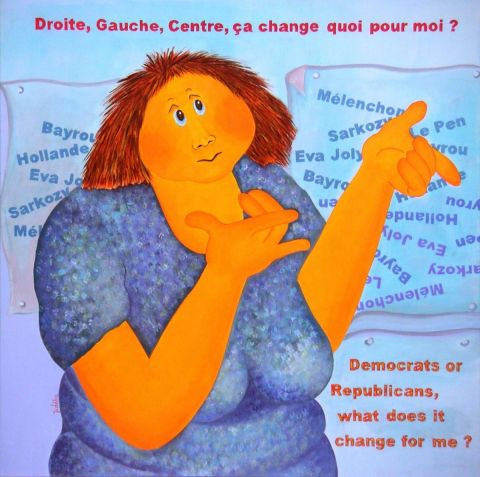 L'artiste Jideka - Les élections ! Germaine and Politics
