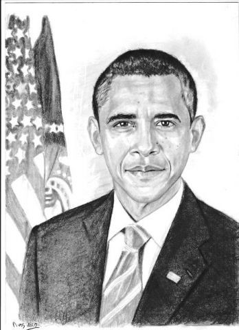 faismonportrait - Barack Obama