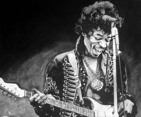 L'artiste david - JIMMY HENDRIX