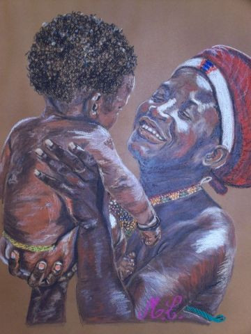 Murielle LACOUR - maman africaine
