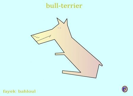 eagles - bull terrier