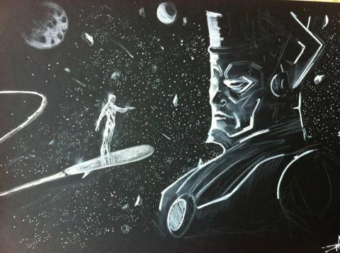 Anthony Darr  - Silver Surfer VS Galactus