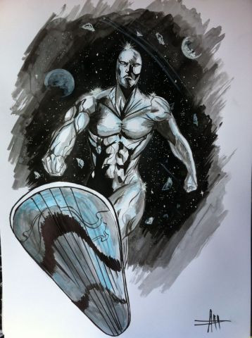 Anthony Darr  - Silver Surfer