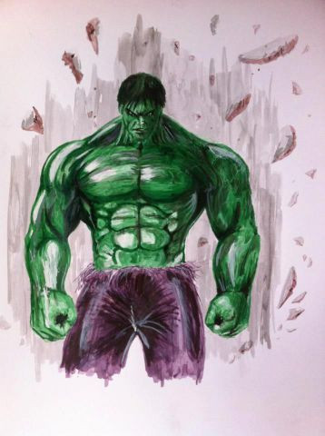 Anthony Darr  - The incredible Hulk