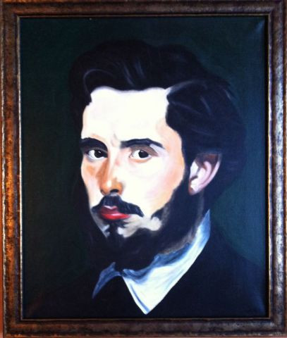 Michele Monnet - Portrait de Monet