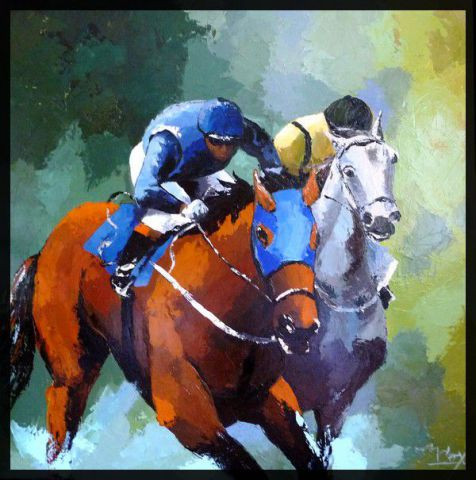 Laurence Clerembaux - galop