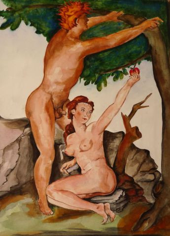 chantalthomasroge - Adam et Eve