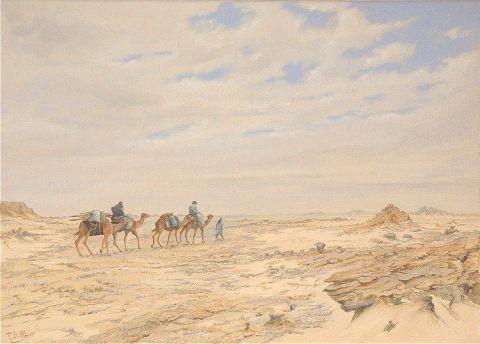 Dans le d sert de la tefedest algerie peinture till for Peinture satinee algerie prix