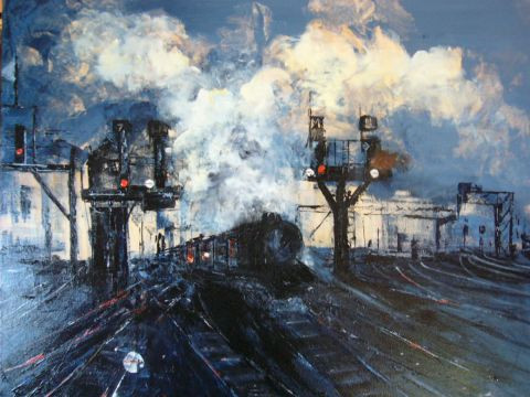 Marie-Therese THEVENOT - Gare de triage