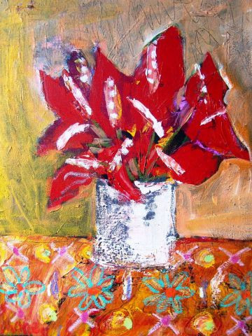 MARIE INDIGO - anthuriums bouquet
