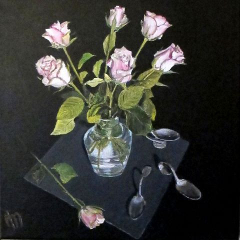 annie massollo - Vase de rose