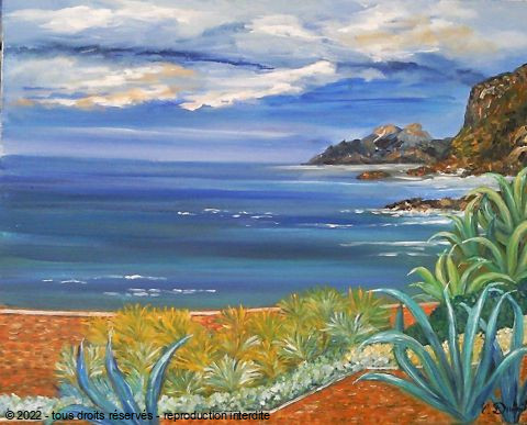 Catherine Dutailly - La baie de Piana