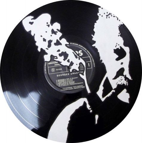 Vinyl Creation - Taleaux Georges Brassens