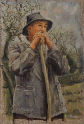 Le jardinier peinture chanu for Le jardinier