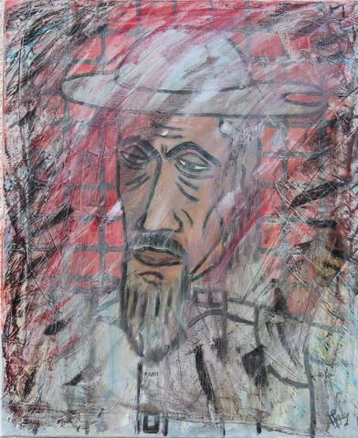 biscarel - Portrait de don quichotte