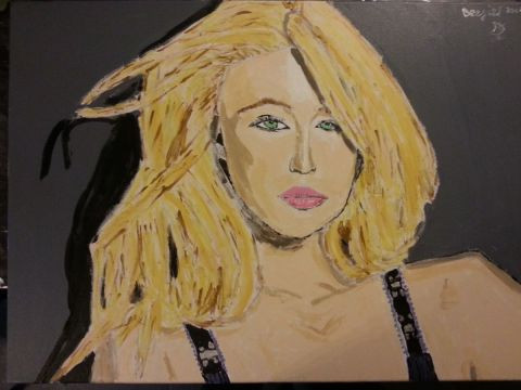 DJL - PORTRAIT PARIS HILTON