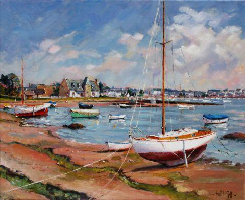 Ploumanach peinture henri le goff - Galerie du port noirmoutier ...