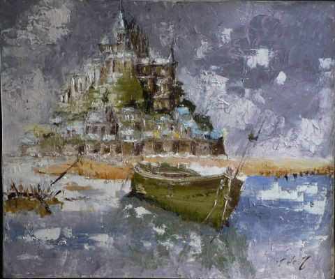 Veronique DEMOULIAN - Le Mont saint Michel
