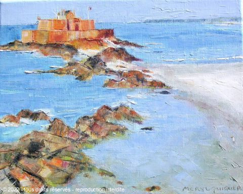 Meryl QUIGUER - Regard sur Le Fort National. St Malo