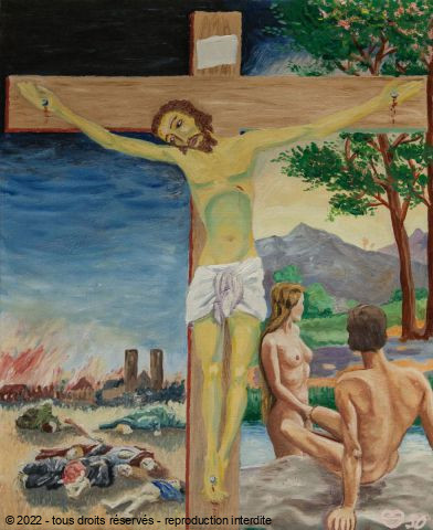 Daniel Blondeau - Tristes Pressentiments du Christ