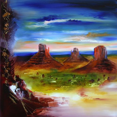 L'artiste Sophie SIROT - Le grand Canyon