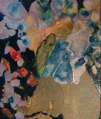 Le serpent et l 39 enfant peinture pascal mollet - Peinture effet serpent ...