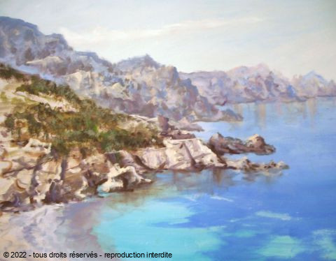 LALLEMAND YVES - CALANQUES