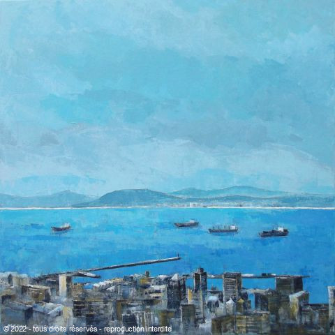 Meryl QUIGUER - Table Bay blues.