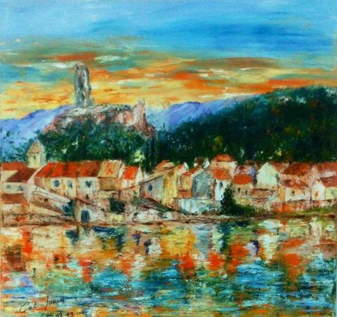 Catherine James - Gruissan le village