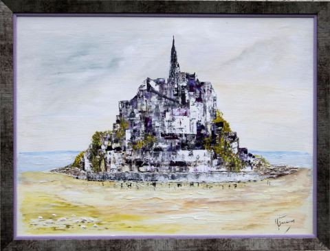Monique Pradoux - Mont st Michel