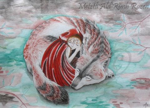 Metztli - Little Red's Wolf