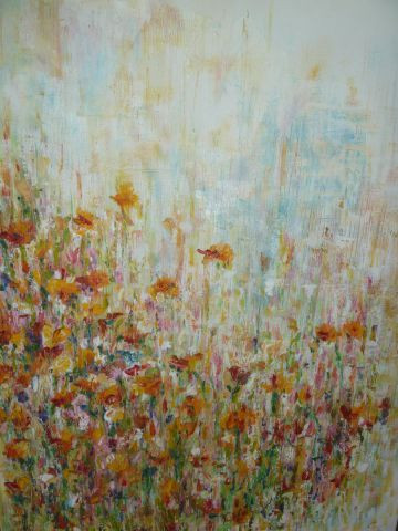 Cate Evans - Flower field