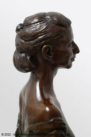 Laurent mc sculpteur portrait - Madame Y