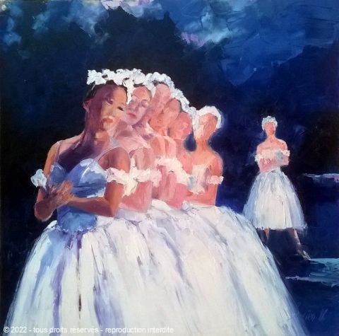 L'artiste Veronique LANCIEN - sylphides