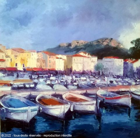L'artiste Veronique LANCIEN - cassis