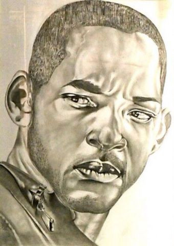 L'artiste Ferge charly - Portrait Will Smith