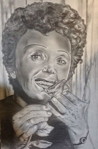 Ferge charly - Portrait d'Edith Piaf