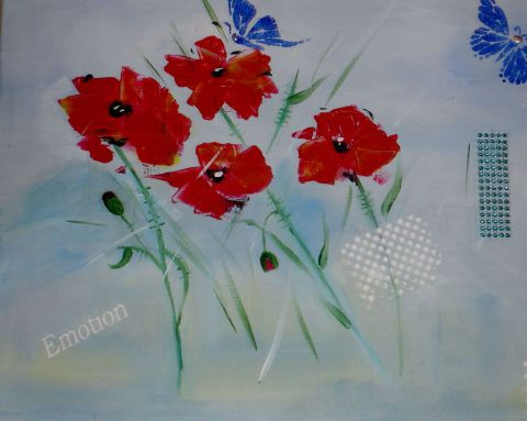 L'artiste angy - coquelicots