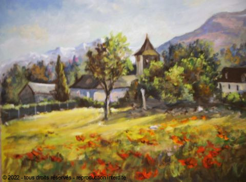 LALLEMAND YVES - VILLAGE OMEX HAUTES PYRENEES