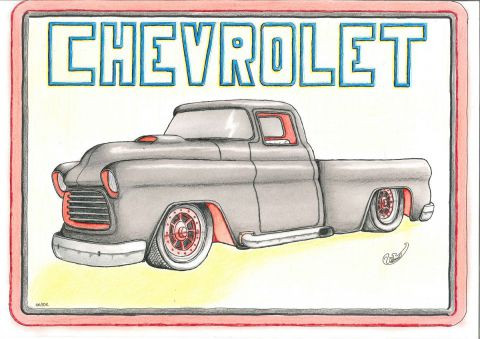 voil demonts - chevrolet apache 56