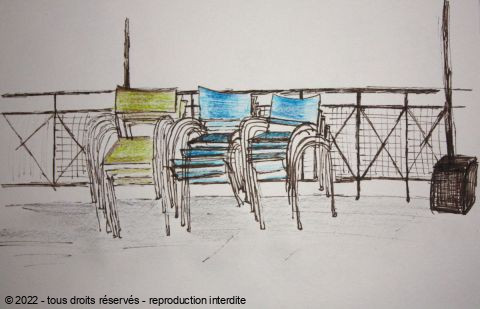 CELINE MANOEL - Paris- 19eme - Chaises