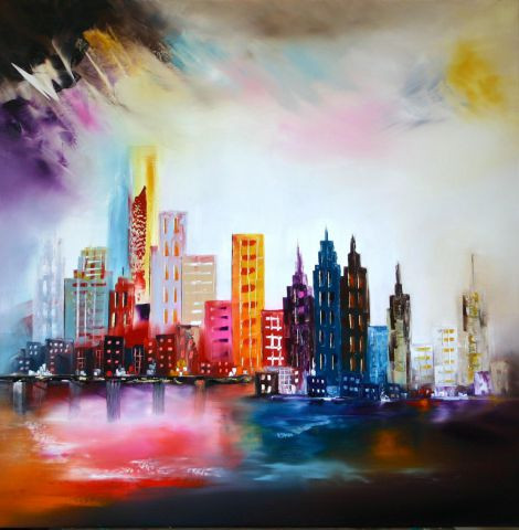 L'artiste Sophie SIROT - Manhattan dream