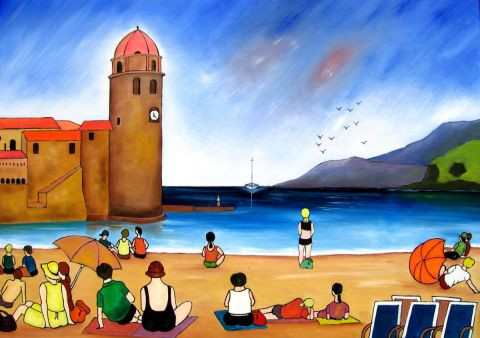 ROGER MARTY - COLLIOURE
