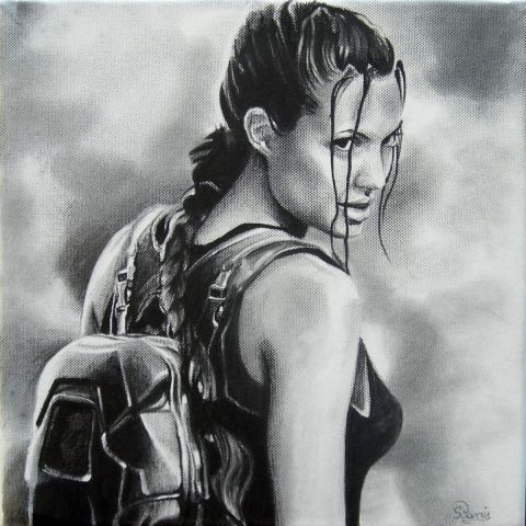 david - lara croft