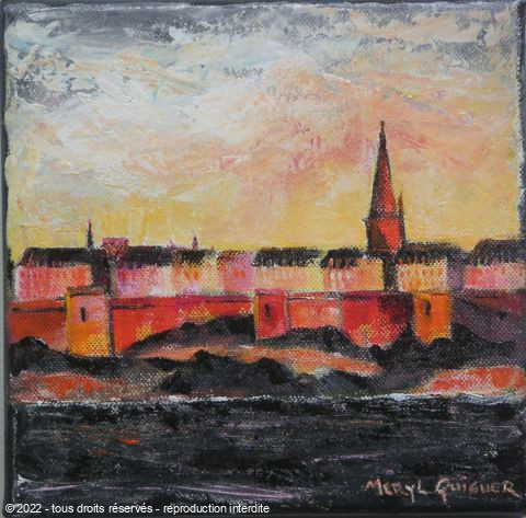 Meryl QUIGUER - Sunrise at St Malo - 7
