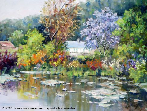 LALLEMAND YVES - GIVERNY